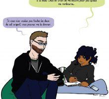 comic strip : médiateur