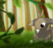 dessin d'un lapin