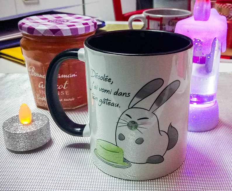 Mug lapin