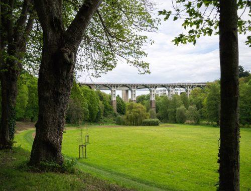 photo du pont de St-Brieuc
